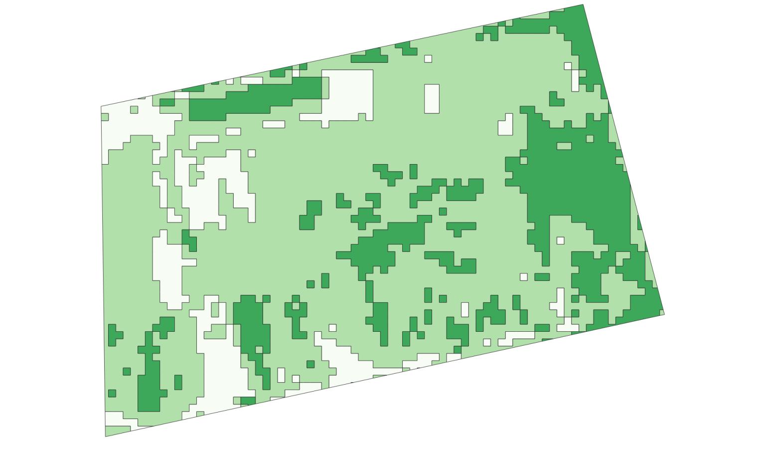 карта-задача для техники для дифференцированного внесения удобрений